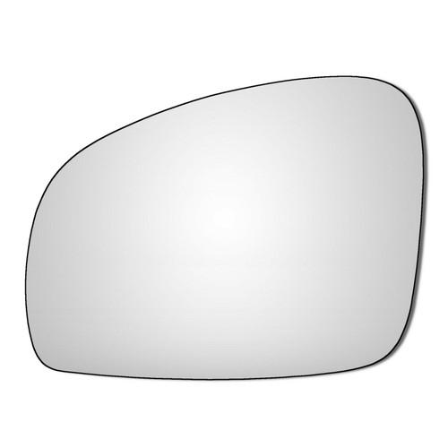 Left Hand Passenger Side Skoda Fabia 2007-2015 Convex Wing Door Mirror Glass