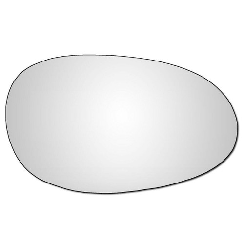 Right Hand Drivers Side Smart Car 1999-2007 Convex Wing Door Mirror Glass
