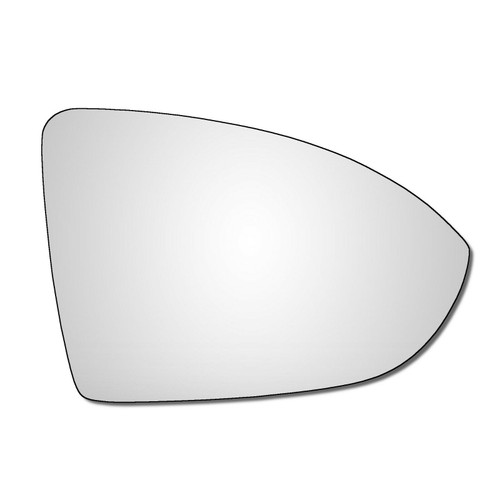Right Hand Drivers Side VW Golf Mk7 / Mk7.5 2012-2021 Convex Wing Door Mirror Glass  V11