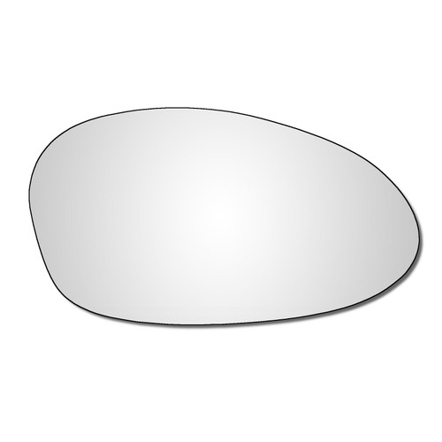 Right Hand Drivers Side BMW 1 Series 2003-2008 Convex Wing Door Mirror Glass
