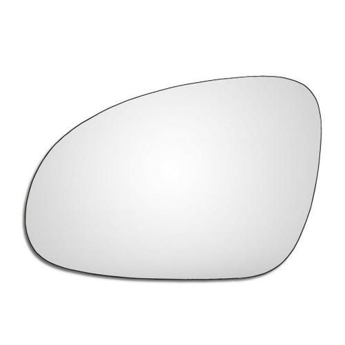Left Hand Passenger Side Skoda Superb 2008-2009 Convex Wing Door Mirror Glass