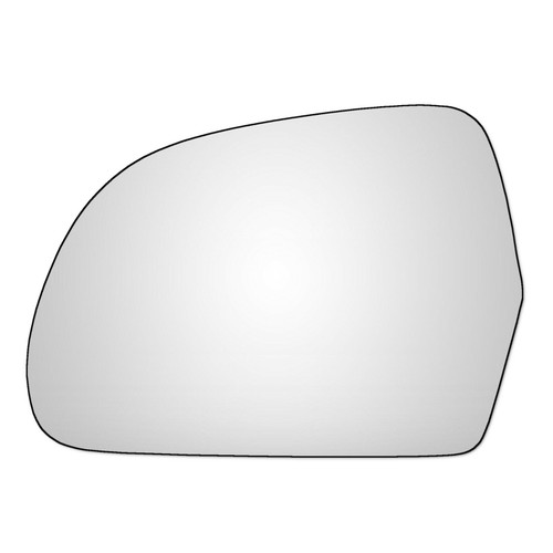 Left Hand Passenger Side Skoda Superb 2008-2015 Convex Wing Door Mirror Glass
