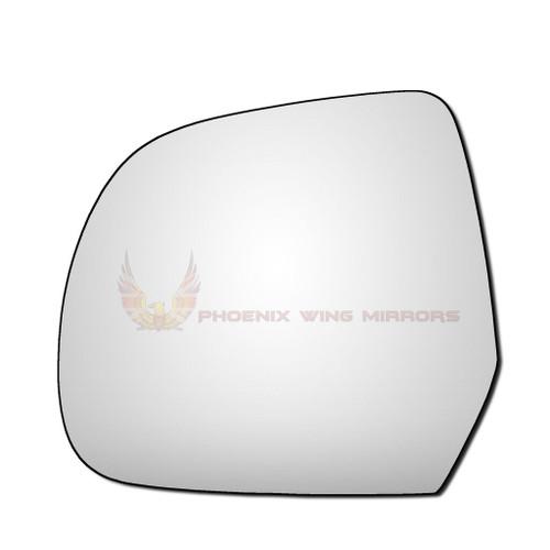 Left Hand Passenger Side Dacia Duster 2009-2013 Convex Wing Door Mirror Glass