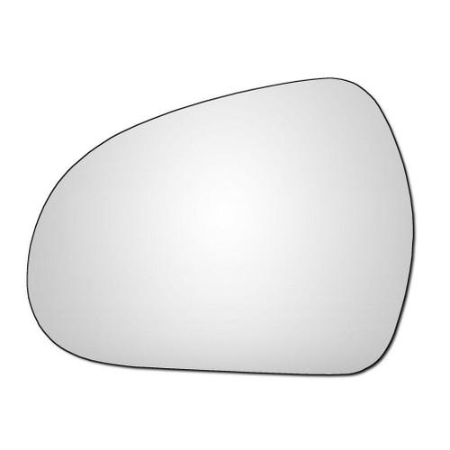 Left Hand Passenger Side Peugeot 207 2006-2012 Convex Wing Door Mirror Glass