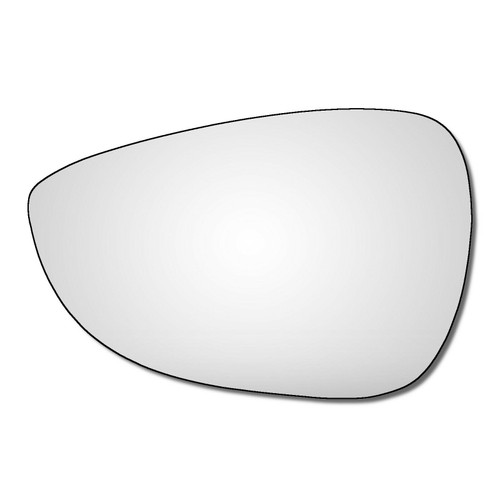 Left Hand Passenger Side Ford B-Max 2012-2018 Convex Wing Door Mirror Glass