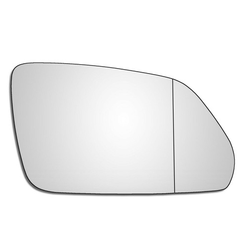 Right Hand Drivers Side Skoda Octavia Mk2 2004-2009 Wide Angle Wing Mirror Glass