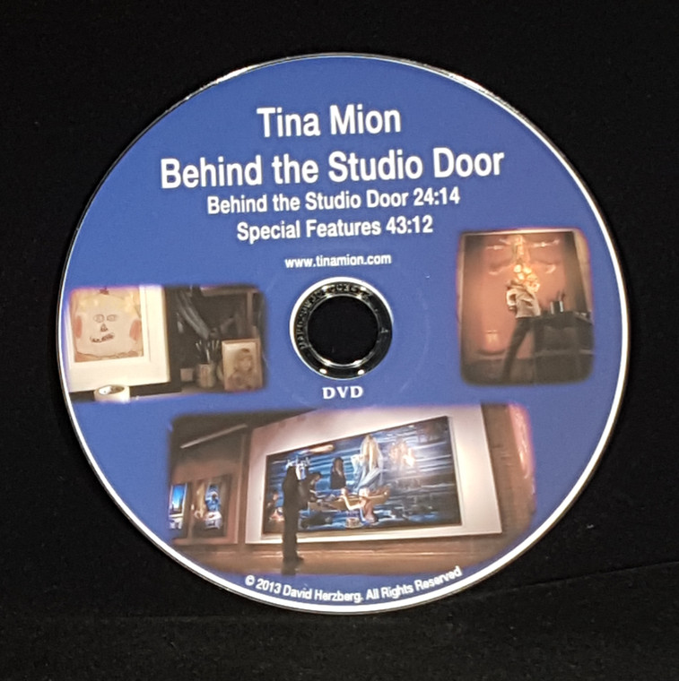 Tina Mion - Behind the Studio Door is about an unusual painter who lives and works in Winslow, Arizona. Tina's art can be light and whimsical, dark, or at times both. She is an intensely private person who rarely lets anyone in her studio and never while she creates her art. This documentary short film offers an unobstructed view of a unique artist at work and is told him her own voice.