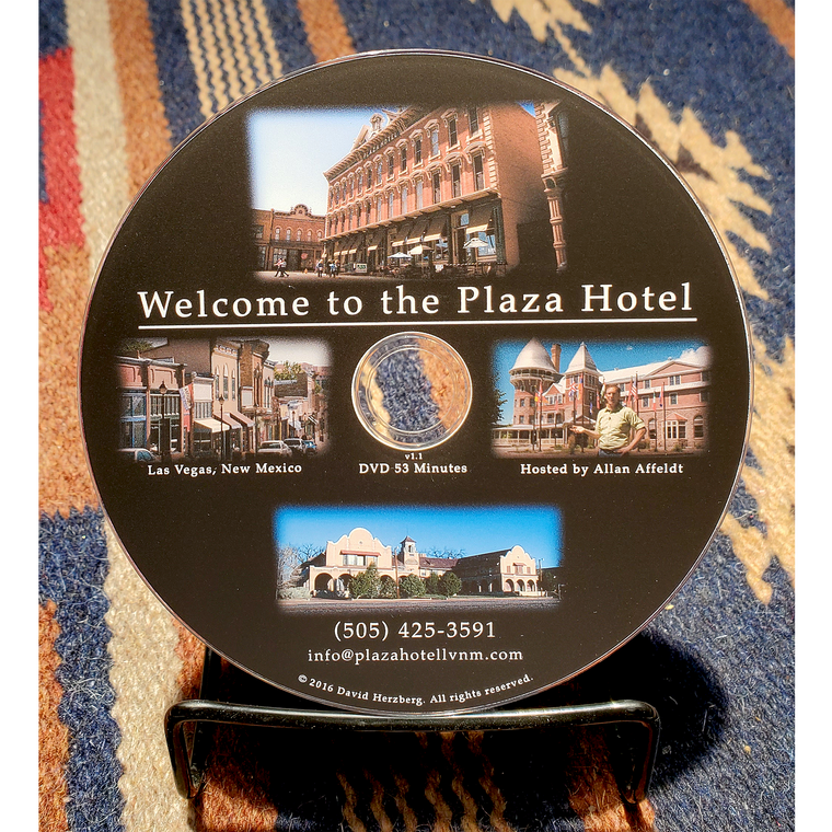 """""""Welcome to the Plaza Hotel"""" DVD"""