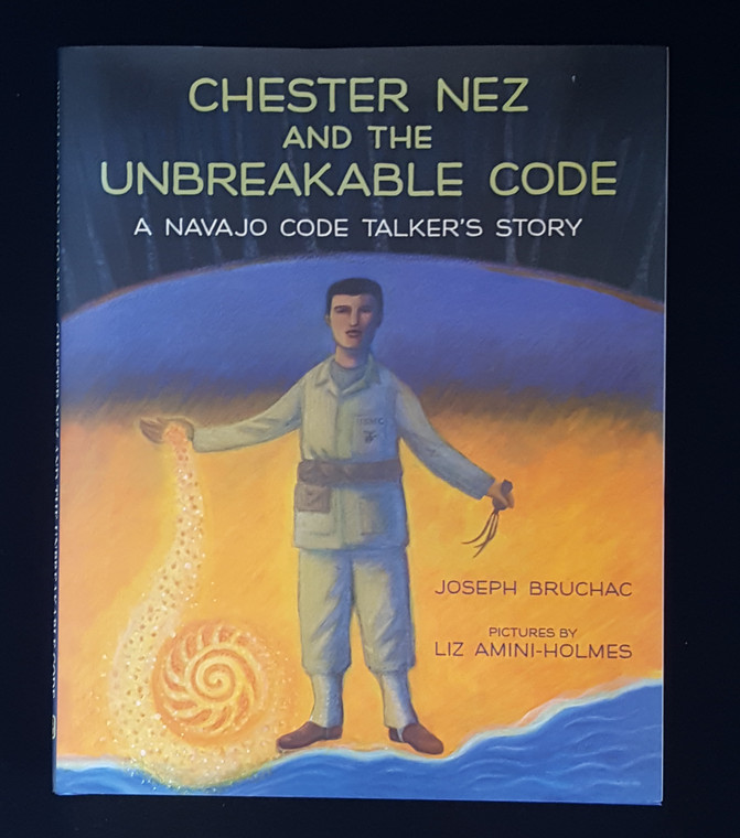 "Chester Nez was a boy told to give up his Navajo roots.  He became a man who used his native language to help America to victory. ""To be productive citizens, our children must learn the authentic history of our great nation from a young age.  This is a fine retelling of the Chester Nez story for a young audience.  It evokes Navajo culture and  shows how important the contributions made by Native Americans are to our country.""- Judith Schiess Avila, co-author of Code Talker: The First and Only Memoir by One of the Original Navajo Code Talkers of WWII"