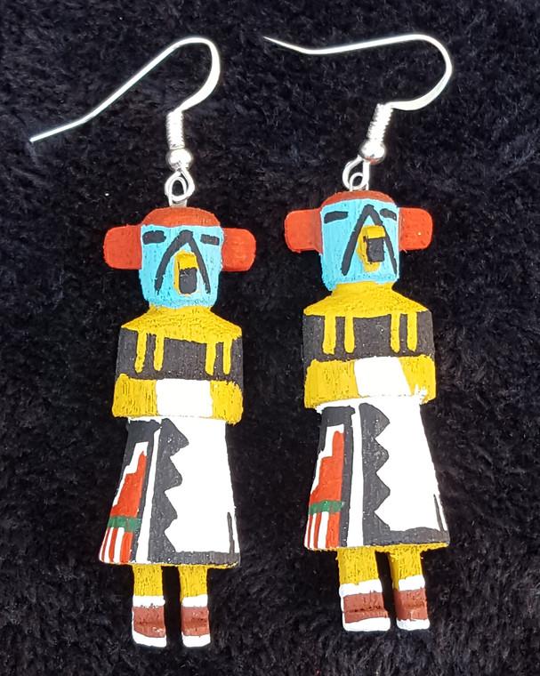 Eagle Kachina earrings