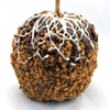 Toffee Chip Chocolate Dipped Caramel Apple
