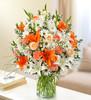 Sincerest Sorrow - Peach, Orange and White