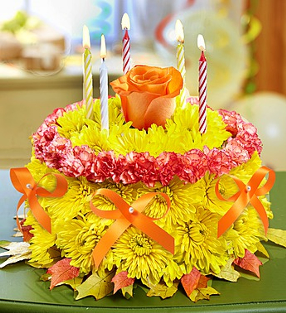 Birthday Flower Cake 174 For Fall Nancy S Floral