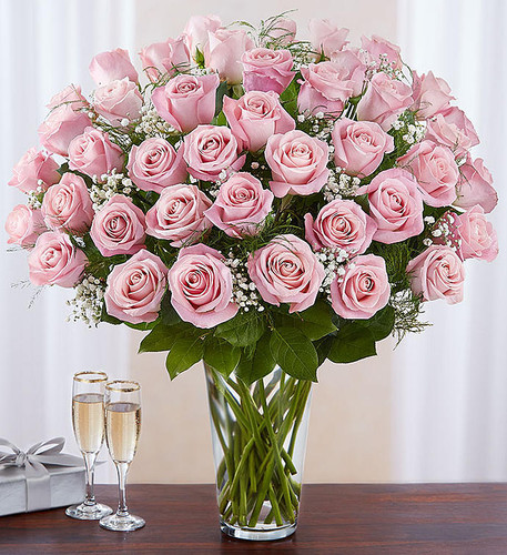 Ultimate Elegance™ 4 Dozen Long Stem Pink Roses