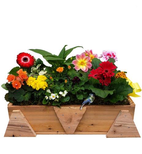 Spring Craftsman Planter