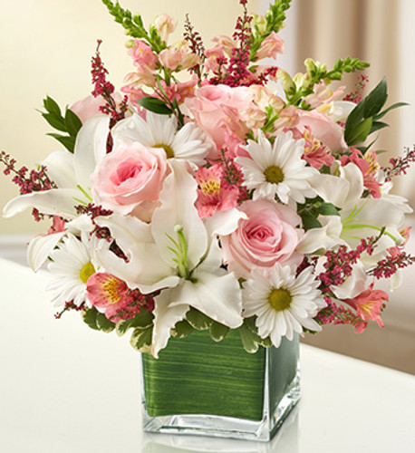 Healing Tears - Pink & White