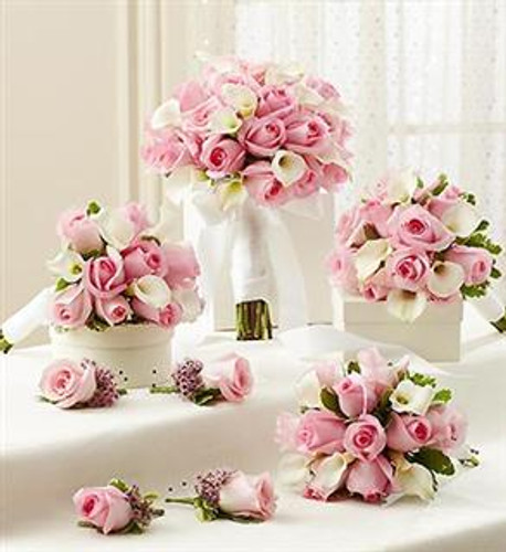 Bridal Party Personal Package - Pink