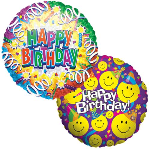 Happy Birthday Mylar Balloons (2)
