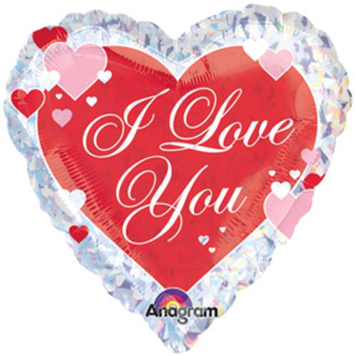 I Love You Mylar Balloon (1)
