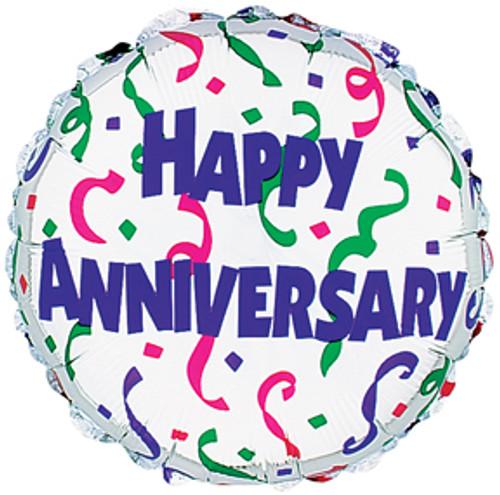 Happy Anniversary Mylar Balloon (1)