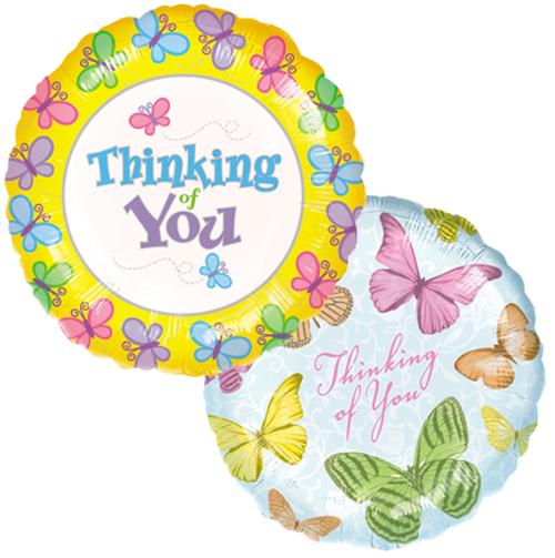 Thinking of You Mylar Balloons (2)