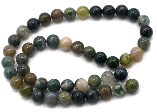 "15"" Strand 8mm Indian Agate Round Beads"