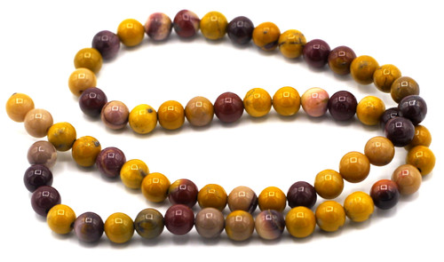 "15"" Strand 6mm Mookaite Round Beads"