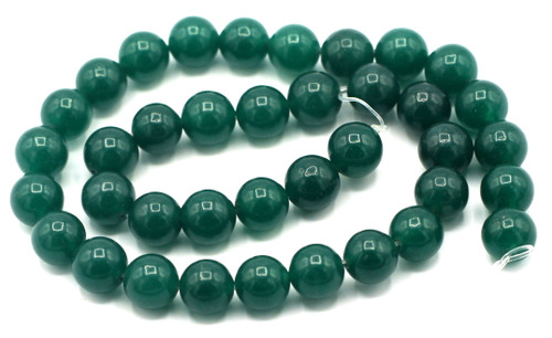 "15"" Strand 10mm Round Green Aventurine Beads"