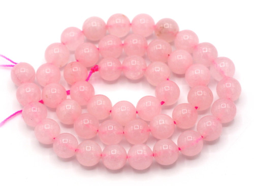 "15.7"" Strand 8mm Rose Quartz Round Beads"