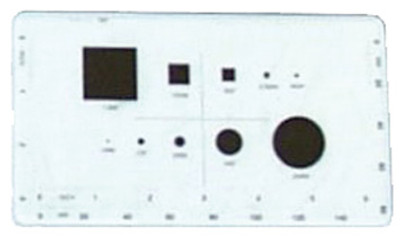 """ACC-MAGPM - Calibration projection master for 24/32"""" Optical Comparators"""