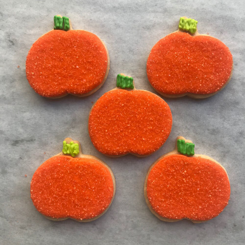 Five Little Pumpkins Decorated Cookie Gift Box