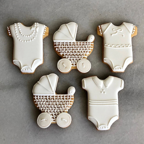 Welcome Baby Decorated Cookie Gift Box