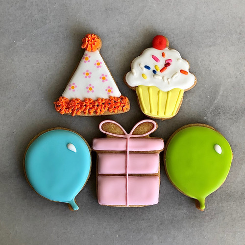 It's Your Birthday Decorated Cookie Gift Box