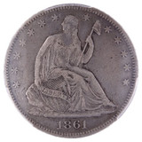 Secession & Seizure: The Story of the 1861-O Seated Liberty Half Dollar