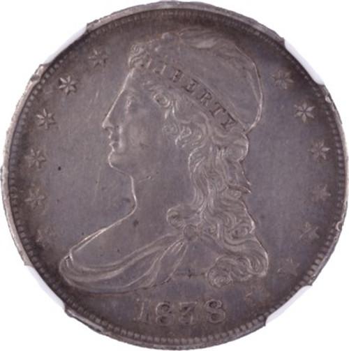1838 Capped Bust Half Dollar AU Details NGC - obverse