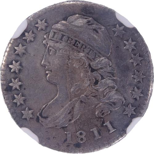1811/09 Capped Bust Dime  AU Details NGC - obverse