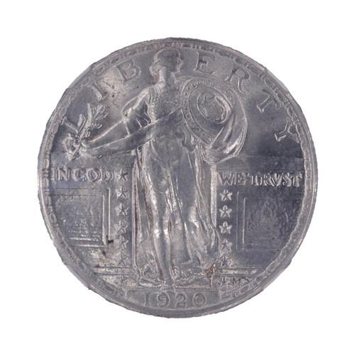 1920 Standing Liberty Quarter MS64 NGC - obverse