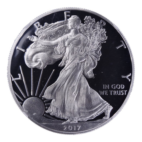 2017-W Silver Eagle Proof PF70 Ultra Cameo NGC - Obverse
