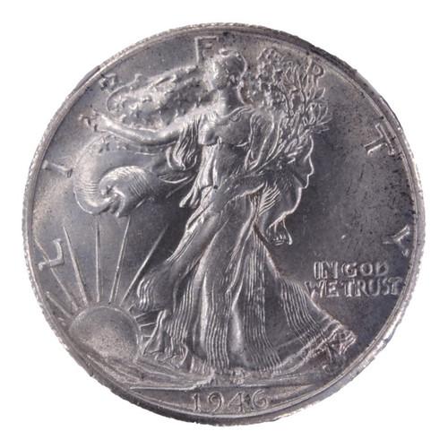 1946-S Walking Liberty Half Dollar AU55 NGC - obverse