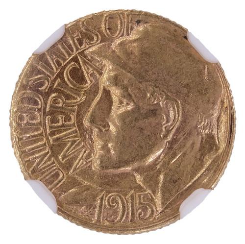 1915-S Panama-Pacific Gold Dollar AU58 NGC - Obverse