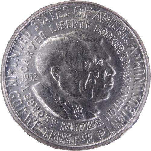 1952 Washington-Carver Half Dollar UNC Details NGC - obverse
