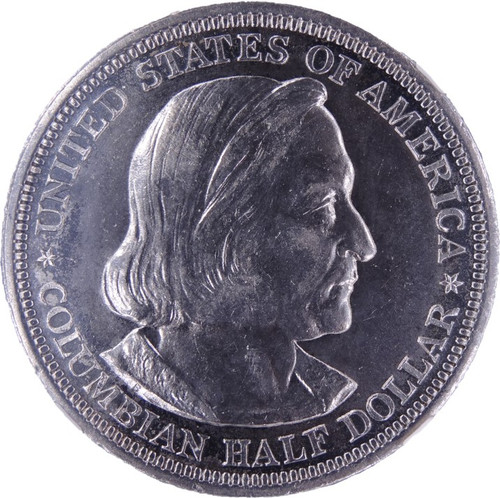 1893 Columbian Commemorative Half Dollar UNC Details NGC - obverse
