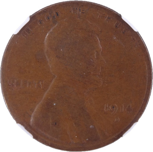 1914-D Lincoln Cent G4 Brown NGC