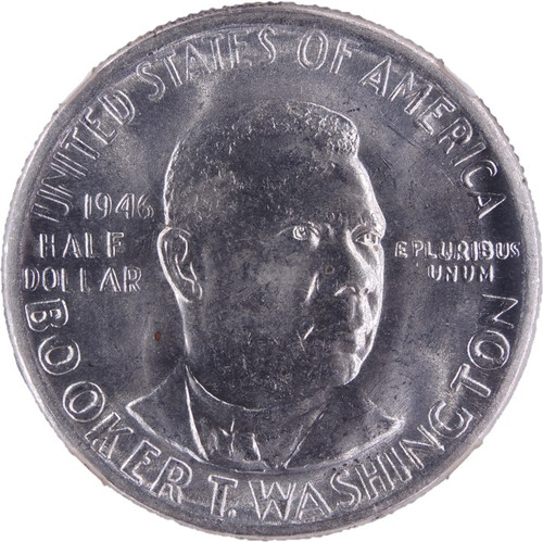 1946 Booker T. Washington Half Dollar MS65 NGC - obverse