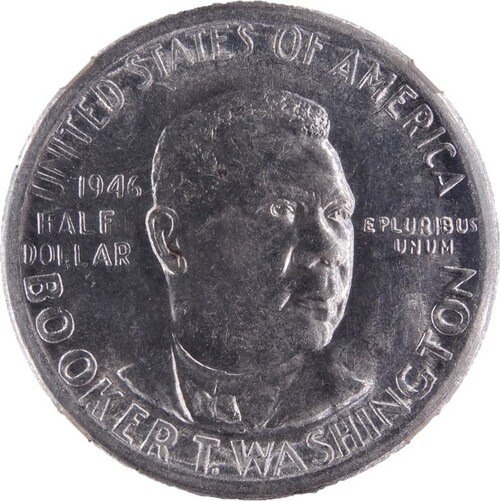 1946-S Booker T. Washington Half Dollar MS64 NGC - Obverse