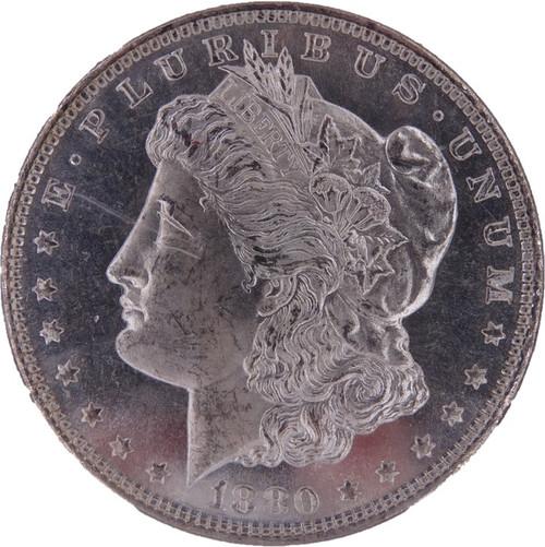1880-S Morgan Dollar MS63 Prooflike NGC - Obverse