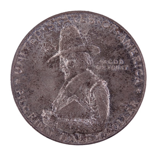 1920 Pilgrim Half Dollar MS65 PCGS - obverse