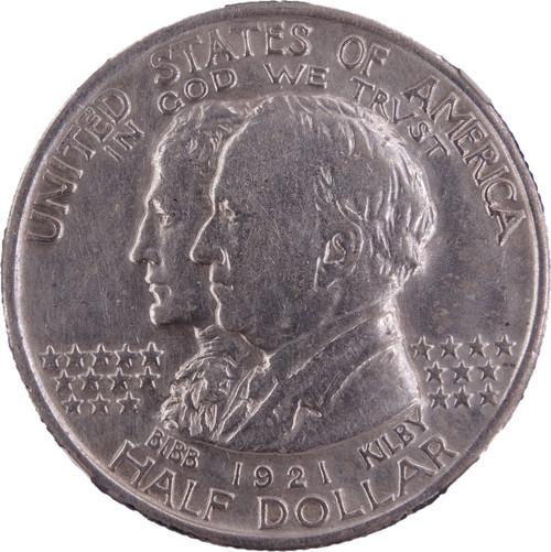 1921 Alabama Centennial Commemorative Half Dollar XF Details NGC - Obverse