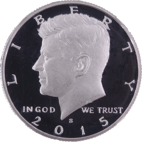 2015-S Kennedy Silver Half Dollar Proof Early Releases PF70 Ultra Cameo NGC - Obverse