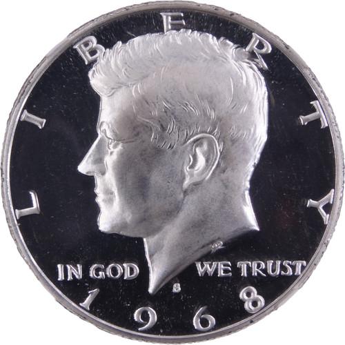 1968-S Kennedy Half Dollar Proof PF69 Ultra Cameo NGC - Obverse